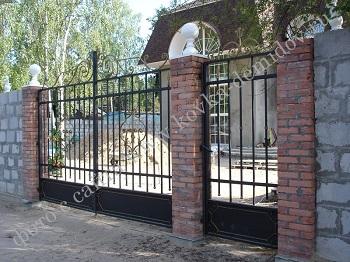 Кованые ворота, решетки, калитки